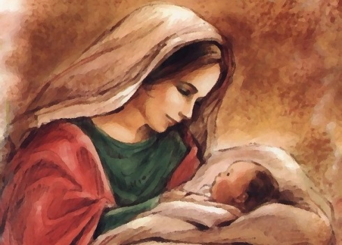 Maria com Jesus (2)