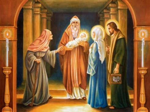 ANA NA APRESENTAÇÃO DE JESUS